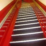 STEEP STEPS TO STEP IN ROOM...