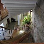 integracion de la muralla en el hotel