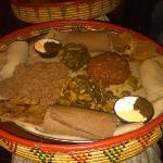 Yod Abyssinia Traditional Food Foto
