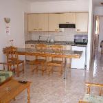 vista soggiorno - cucina