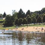 Beach on Lake