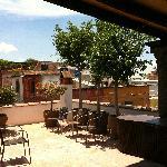 Terraza, Casa de los Olivos, San Miguel de Allende, Gto. México
