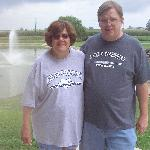 Our Anniversary - taken in the back pond area