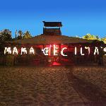 Mama Cecelias at night