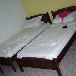 Room beds.