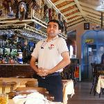 mustafa, one of the lovely staff, always smiling!