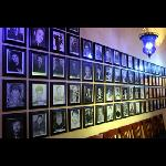 Our comedians wall of fame.