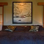Tall Cedars suite bed...restful sleep