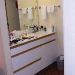 Dressing area and storage drawers
