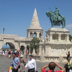 Statute of Stephen I, Fisherman's Bastion, Budapest