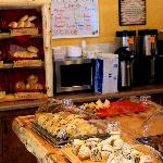 Cabin Coffee Co.: fresh baked goods