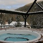 Outdoor Hot Tub Winter