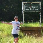 Happy to find Winfrey Road