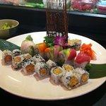 a whole lotta sushi