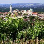 Stift Klosterneuburg - Blick von den Weinbergen