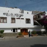 El Amigo: sunny terrace on 2nd floor