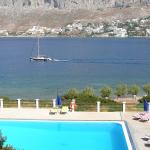 Afternoon view towards Kalymnos