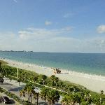 View From Room 620, Holiday Inn, Lido Beach