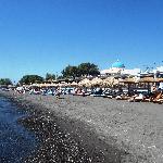 perissa beach 1