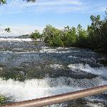 rapida above the falls