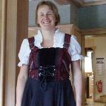 Monika - owner/hostess/lovely person!