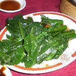 Boiled baby Chinese Broccoli, aka Gai Lan