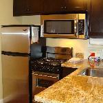 Kitchen in 2BR suite