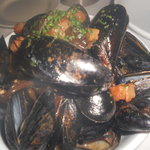 Pan roasted fresh cultivated P.E.I. mussels