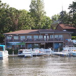 Boat House from Clear Lake