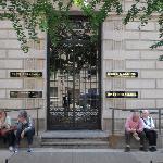 Eingang der Neuen Galerie New York