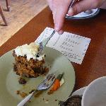 Delicious carrot cake