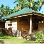 Our non-air conditioned kubo (hut)
