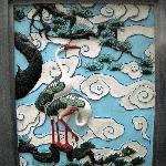 Stork mural