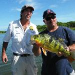 me and Rich Cahill Panama Canal Fishing