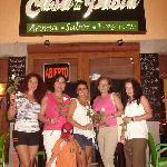 Rosalba, Tere, Eugenio,Eugenia, Gloria y Simona,