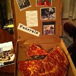 fantastic pizza I can't wait to order again!