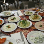Many delicious local side dishes