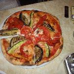 Pizza im Brasa Tremosine