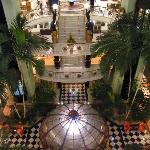 Spacious main building atrium