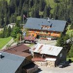 Blick aus der Perspektive Sessellift Alpe Uga