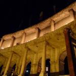les colonnes du colosseo