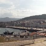 vista de Castro desde el asador El Puerto