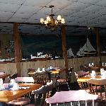 Dining room of the Harrison's