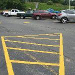 Backside parkinglot