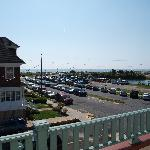 Ocean view from upstairs deck