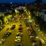 Place Jourdan (de nuit)