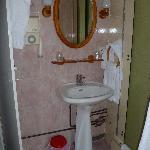 The bath, toilet separate