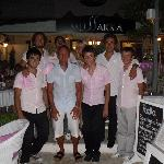us and the boys from Mussaka