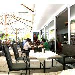 Restaurant-Terasse
