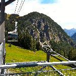 Bergbahn über Canyon